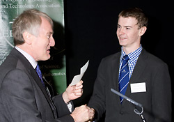 James Crossley accepts the 2010 EEESTA Innovation Award from David Smith