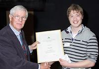 Oscar Gill accepts the 2012 EEESTA Innovation Award