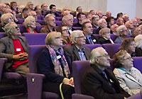 Audience in the Weston Auditorium